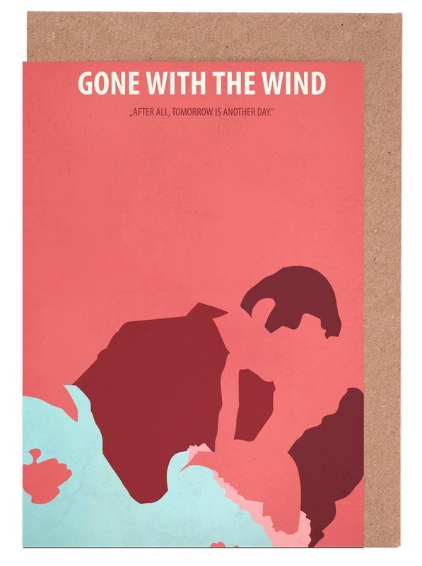Gone with the Wind -Grußkarten-Set