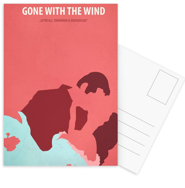 Gone with the Wind -Postkartenset