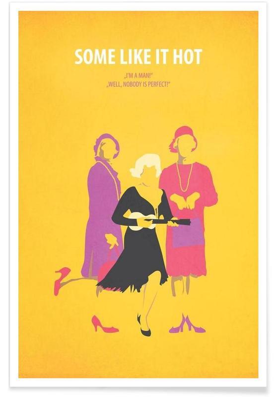 Marilyn Monroe, Films, Some like it hot affiche