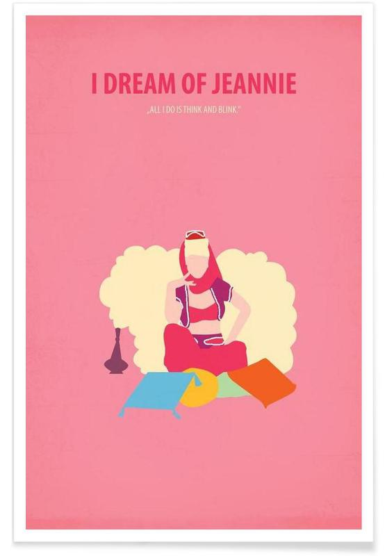 Films, I dream of Jeannie affiche