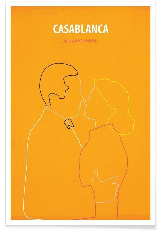 Films, Casablanca affiche