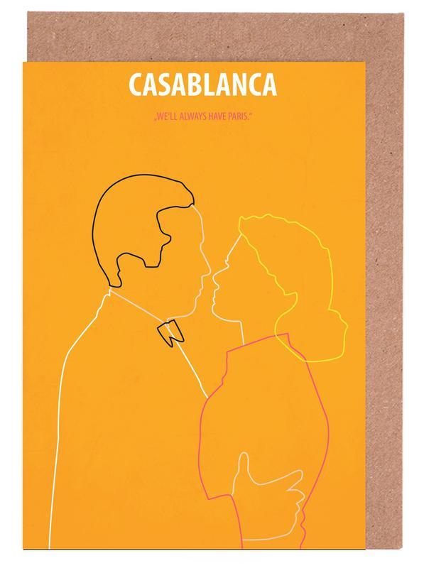 Films, Casablanca cartes de vœux
