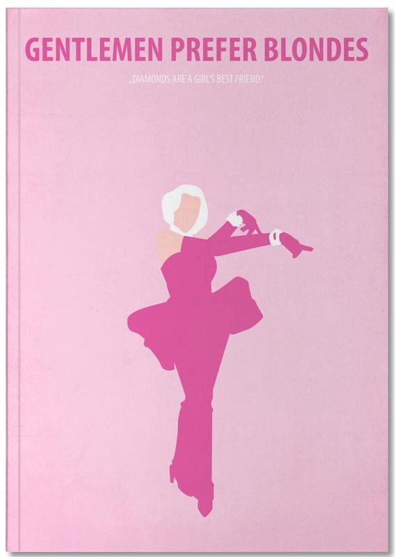 Films, Marilyn Monroe, Gentlemen prefer Blondes Notebook