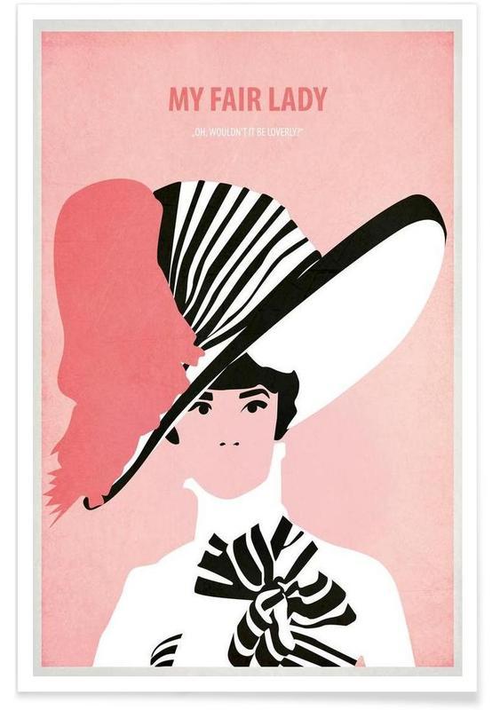 Audrey Hepburn, Films, My fair Lady affiche