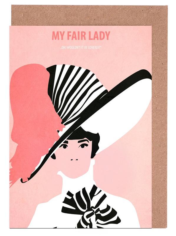 My fair Lady -Grußkarten-Set