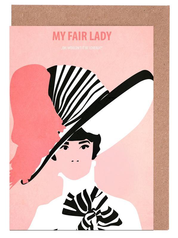 Films, Audrey Hepburn, My fair Lady wenskaartenset