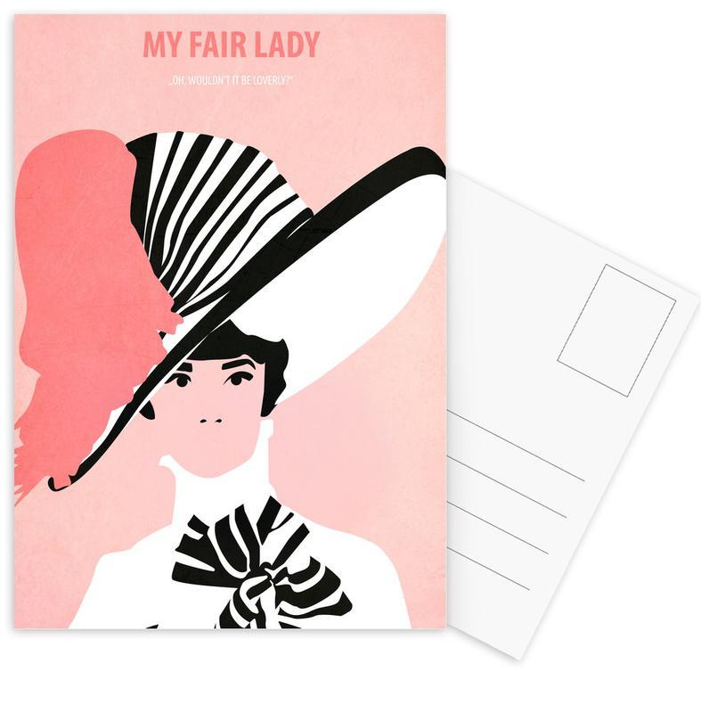 My fair Lady -Postkartenset