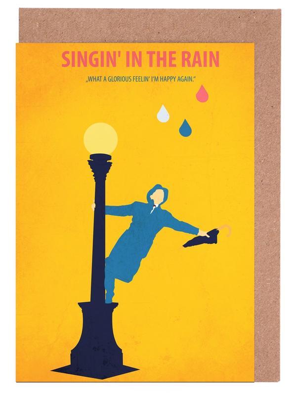 Films, Singin' in the Rain cartes de vœux