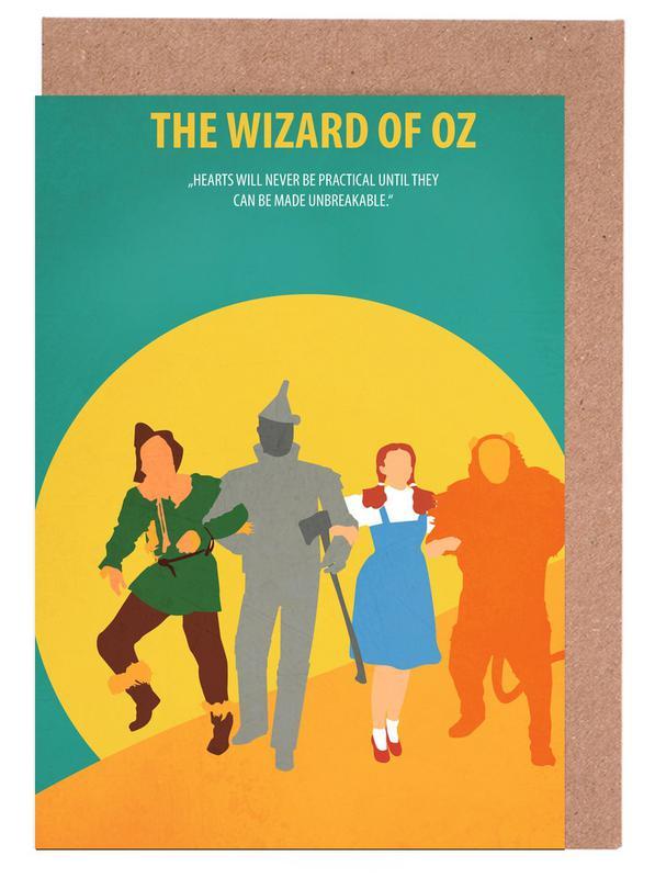 Films, The Wizard of Oz cartes de vœux