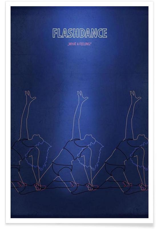 Filme, Retro, Flashdance -Poster