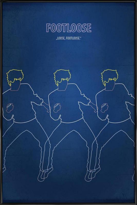 Footloose Framed Poster
