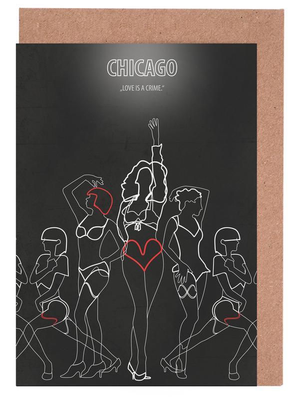 Chicago -Grußkarten-Set