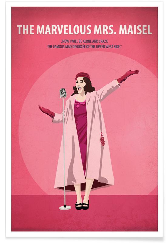 Films, The Marvelous Mrs. Maisel poster