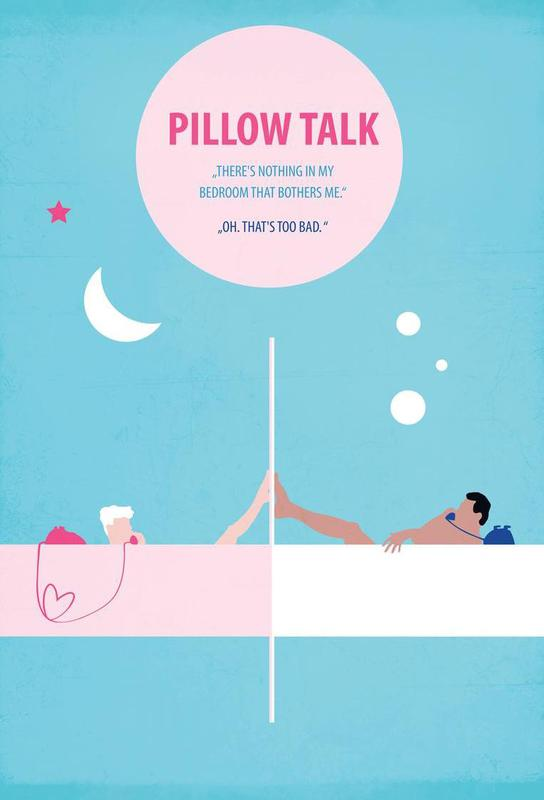 Pillow Talk -Acrylglasbild