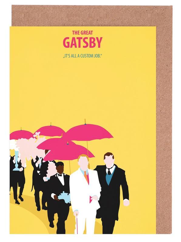 Films, The great Gatsby cartes de vœux