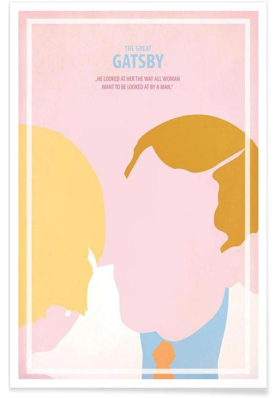 The great Gatsby II affiche