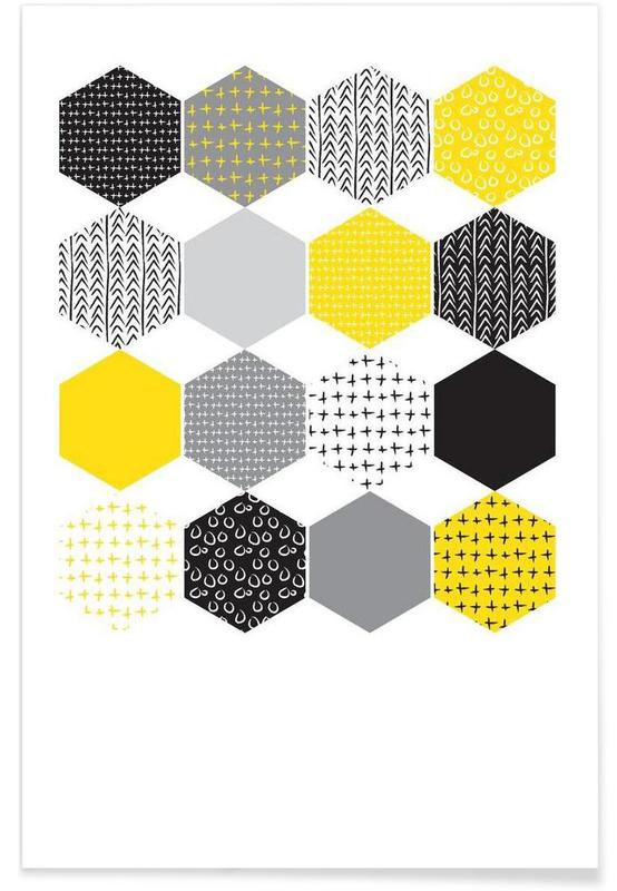 , Yellowhex affiche