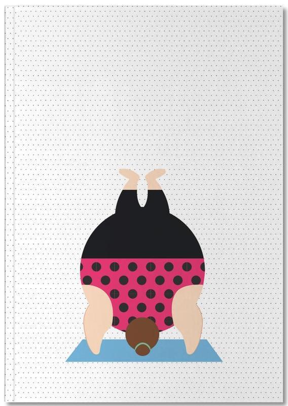 Yoga, Yoginis Bright 6 Notebook