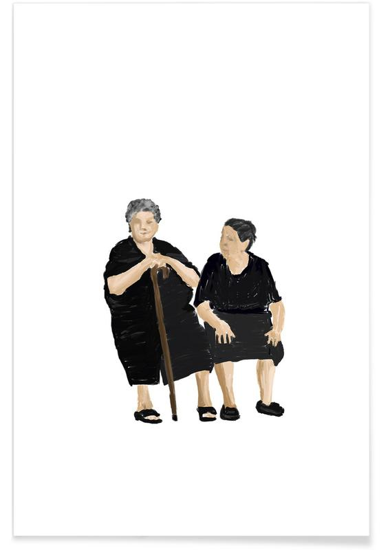 Porträts, Reise, Church Belles 2 -Poster