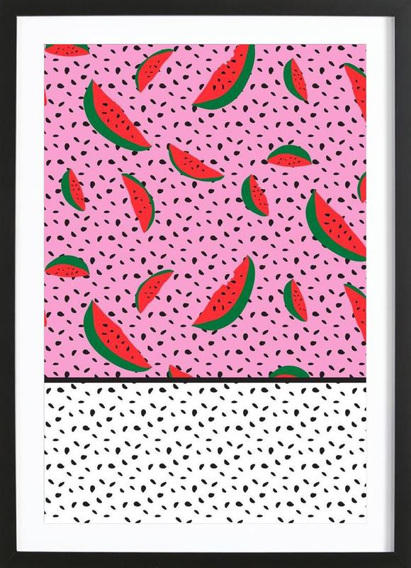 Spotted Watermelons Framed Print
