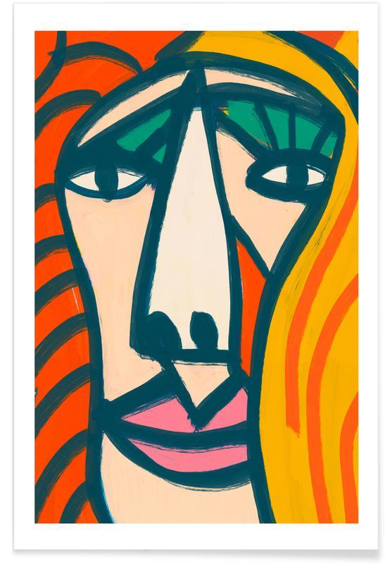 Portraits, Sarah Poster