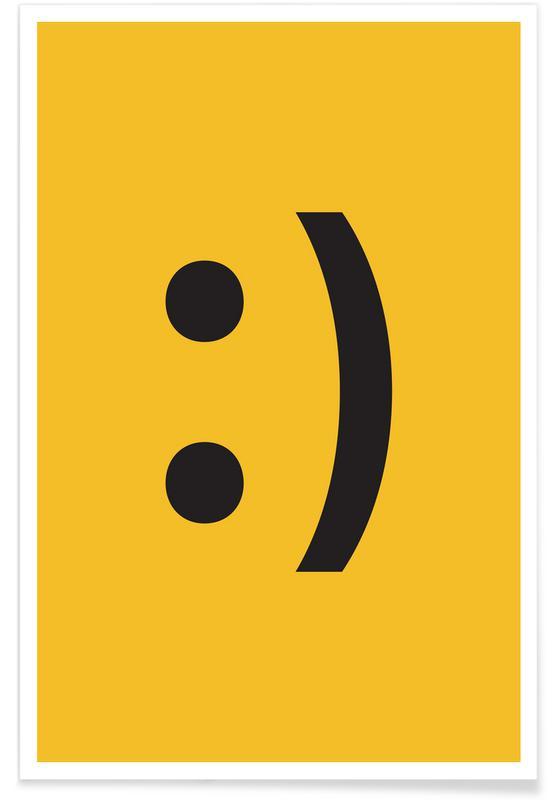 Symbolen, Smiley poster