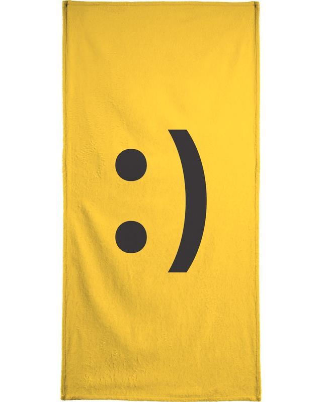 Smiley -Strandtuch