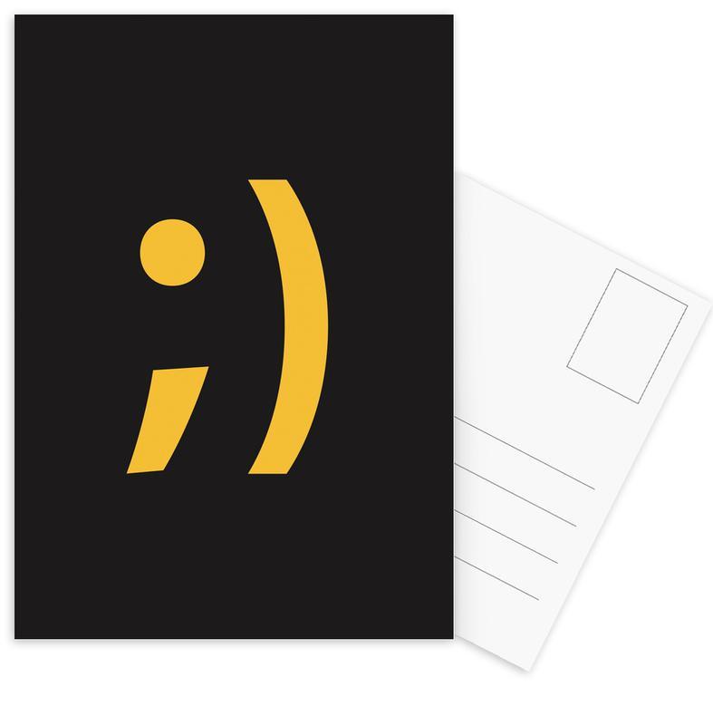 Symbols, Wink Postcard Set