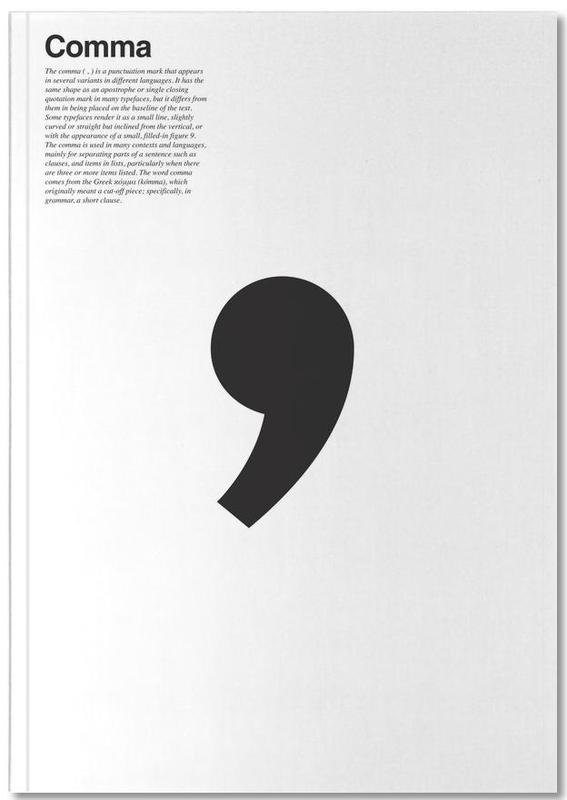Comma Notebook