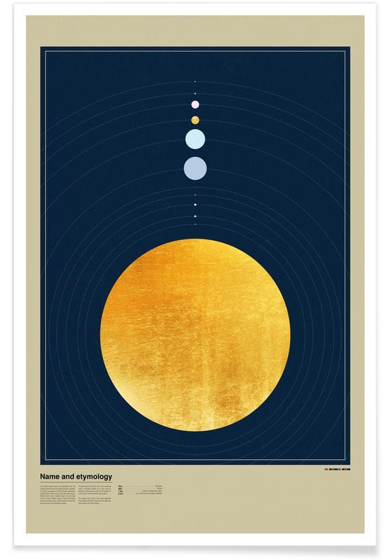 , Planet Orbis Poster