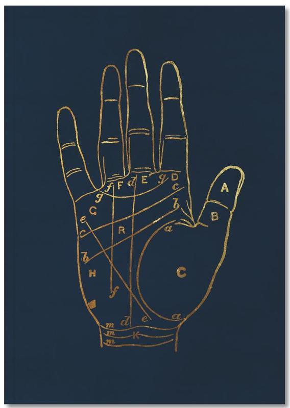 Golden Hand Notebook