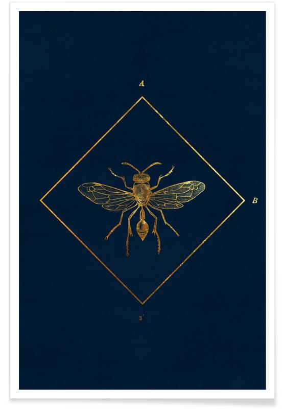 , Golden Insect poster