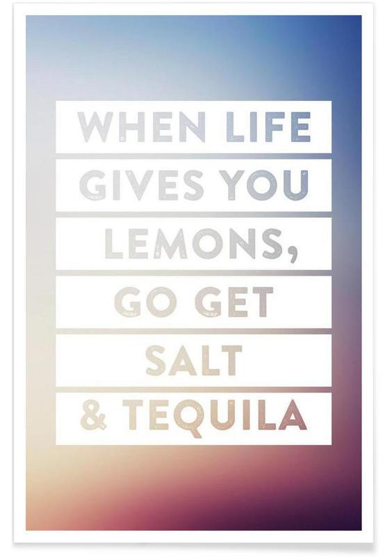 Humour, Motivation, Citations et slogans, Lemons affiche