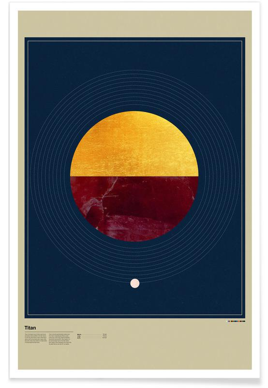 , Titan affiche