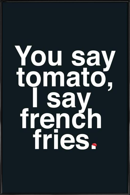 Tomato ingelijste poster