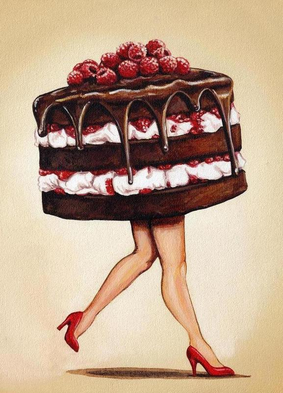 Cake Walk Canvas Print