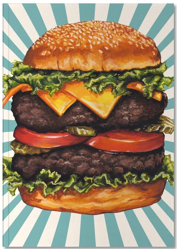 Double Cheeseburger Notebook