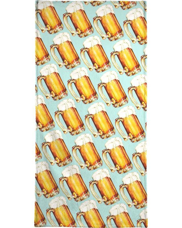Beer Pattern -Strandtuch