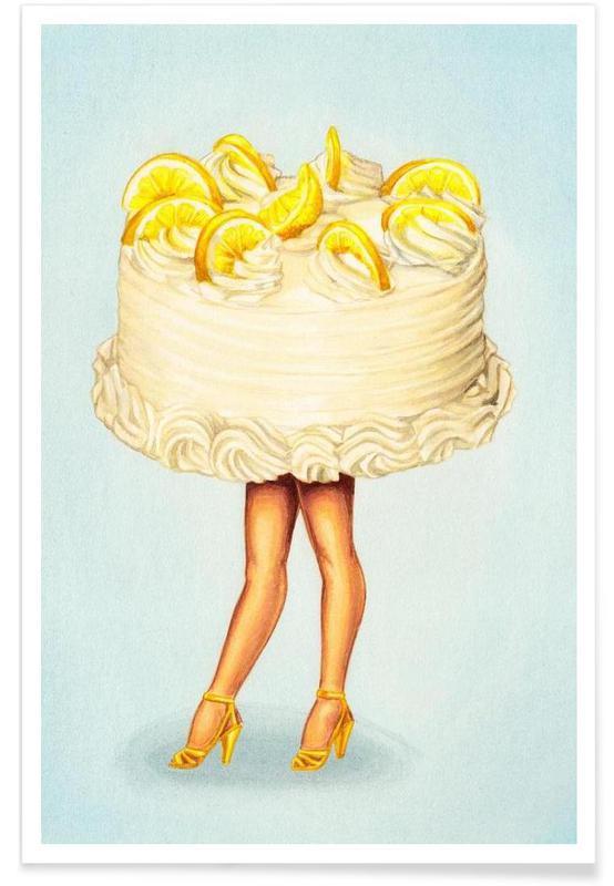Retro, Kager, Cake Walk III Plakat