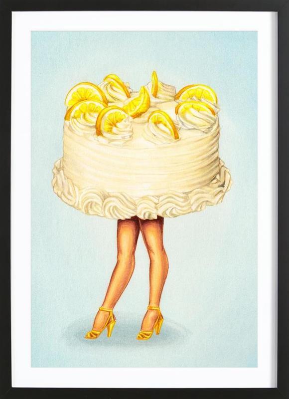 Cake Walk III ingelijste print