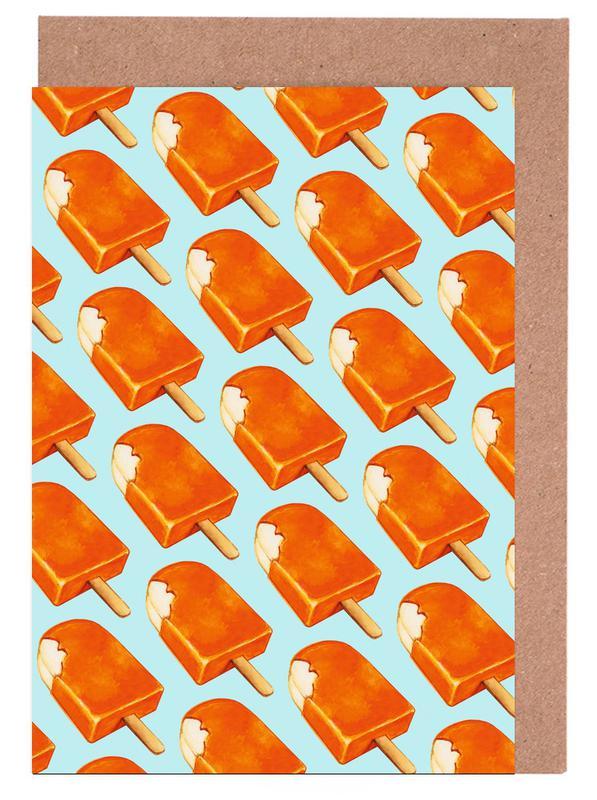 Creamsicle Pattern Greeting Card Set