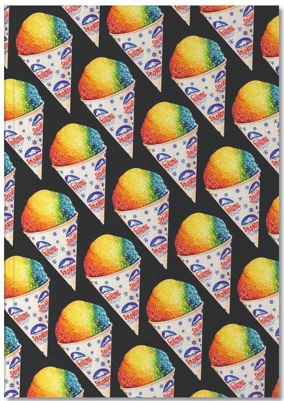 Snow Cone Pattern Notebook