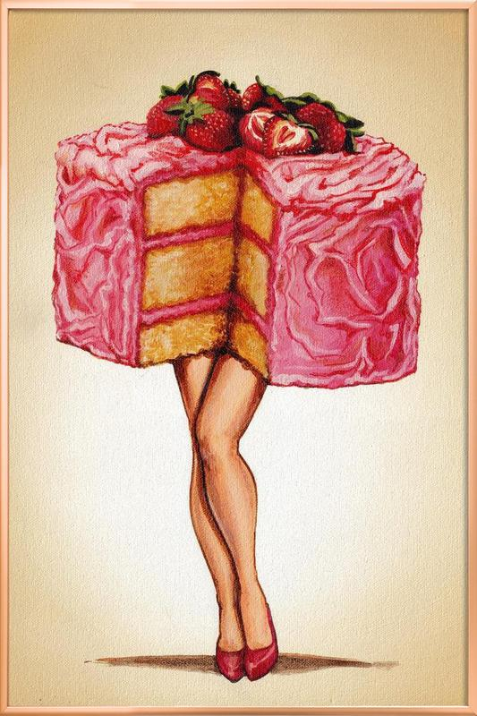 Hot Cakes -Poster im Alurahmen