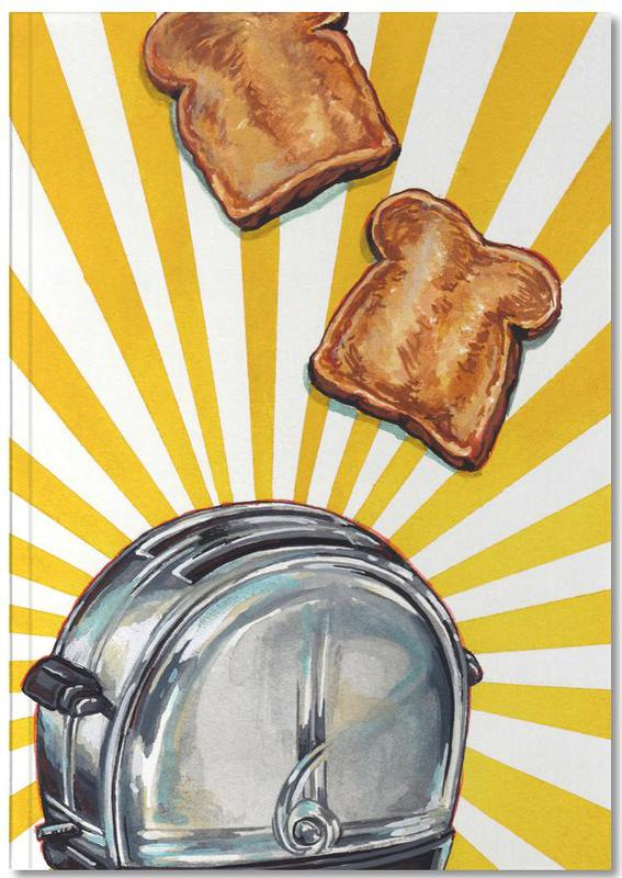 Toaster and Toast Notebook