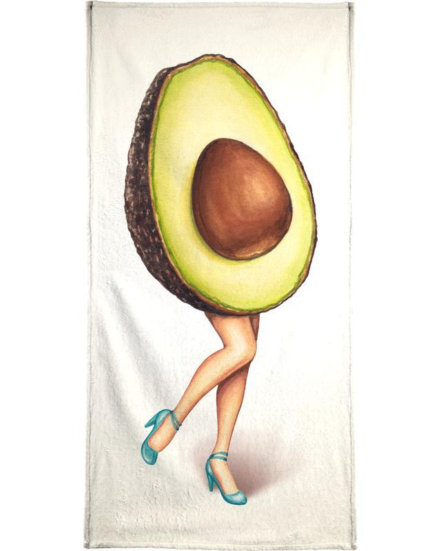 Fruit Stand - Avocado Beach Towel