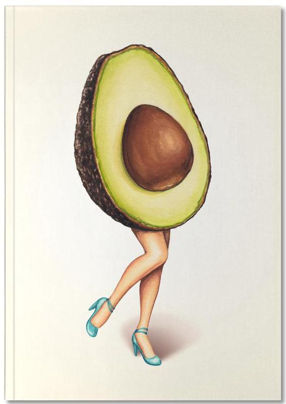 Fruit Stand - Avocado Notebook
