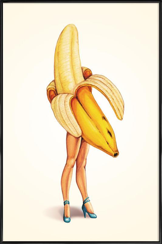 Fruit Stand - Banana Framed Poster