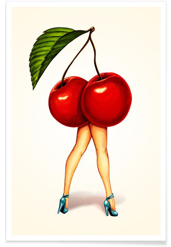 Fruit Stand - Cherry Poster