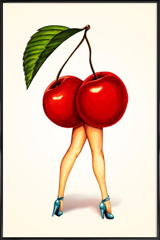Fruit Stand - Cherry ingelijste poster