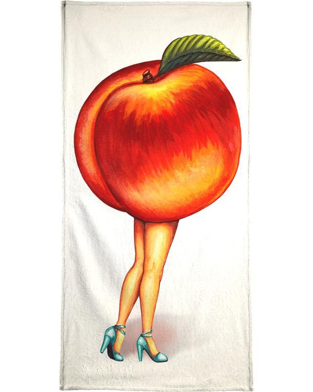 Fruit Stand - Peach Bath Towel